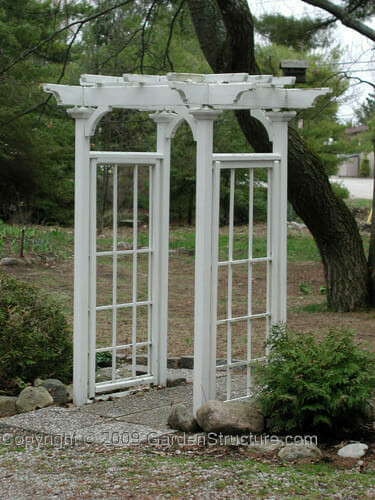 Best ideas about Arbor Plans DIY . Save or Pin Garden Arbor Plans AC003 The Arts and Crafts Garden Now.