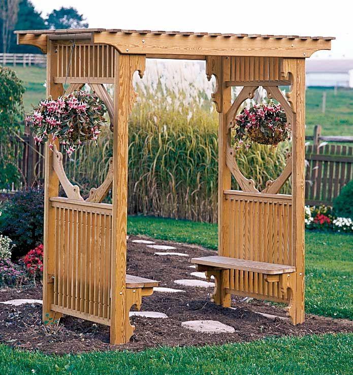 Best ideas about Arbor Plans DIY . Save or Pin DIY Arbor Pergola Plans PDF Download wood homes plans Now.