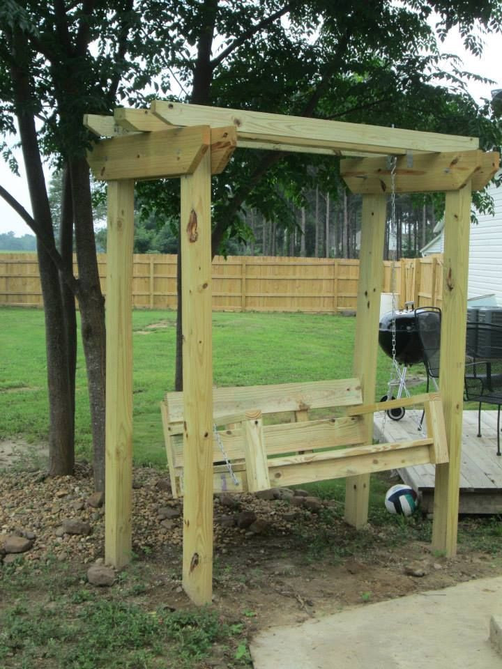 Best ideas about Arbor Plans DIY . Save or Pin DIY Swing and Arbor swing plans from from Ana White s Now.