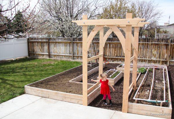 Best ideas about Arbor Plans DIY . Save or Pin Ve able Garden Arbor DIY Plans Now.