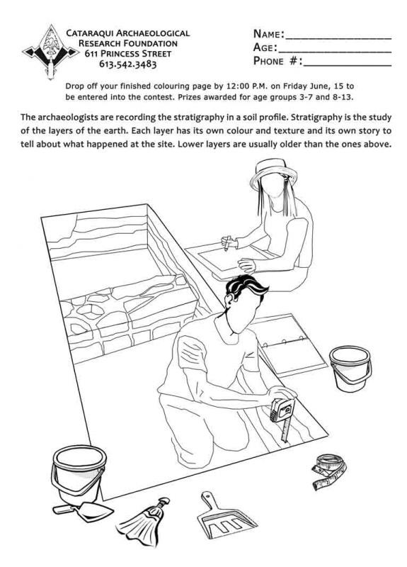 Best ideas about Archaeology Coloring Pages For Kids . Save or Pin Archaeology Week 2012 Now.