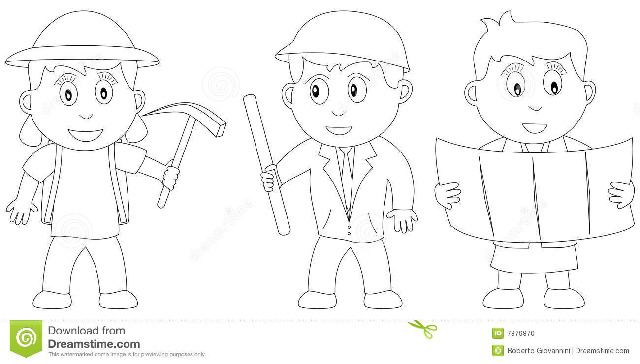Best ideas about Archaeology Coloring Pages For Kids . Save or Pin Coloring Book For Kids [12] Stock Vector Illustration of Now.