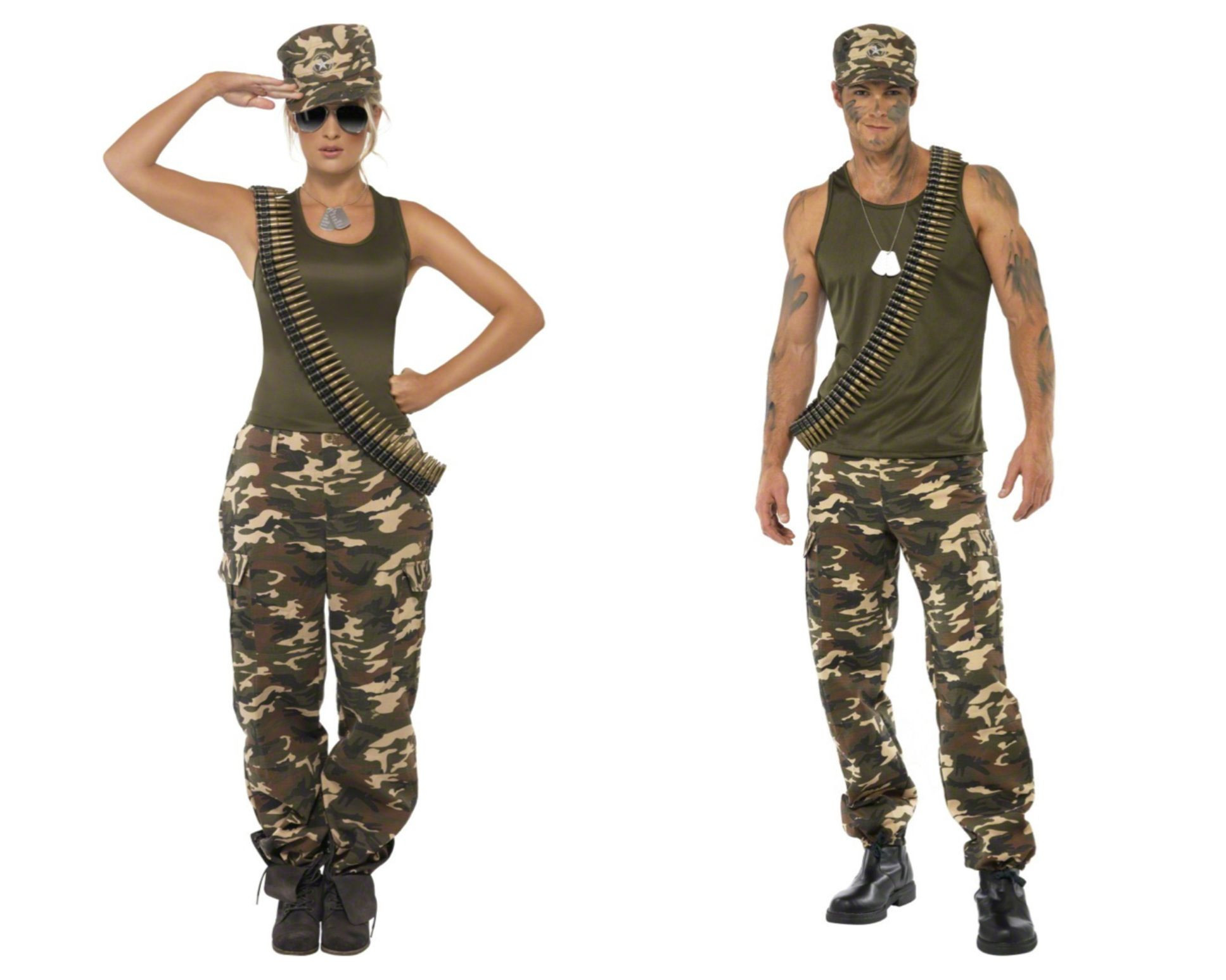 Best ideas about Army Girl Costume DIY . Save or Pin G I Joe and G I Jane costumes Now.