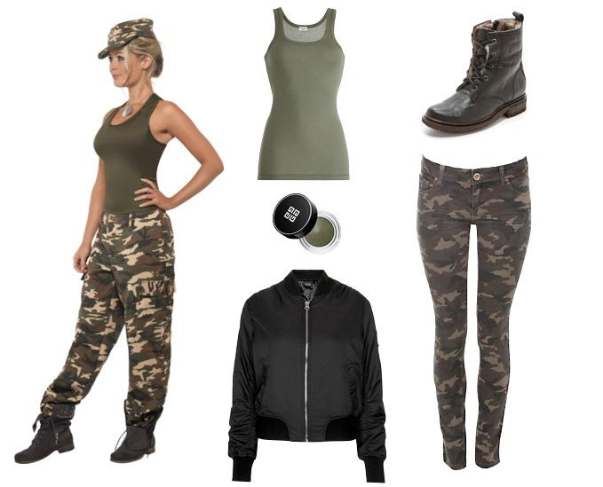 Best ideas about Army Girl Costume DIY . Save or Pin 25 best ideas about Army girl costumes on Pinterest Now.