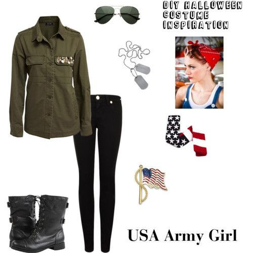 Best ideas about Army Girl Costume DIY . Save or Pin 17 Best ideas about Army Girl Costumes on Pinterest Now.