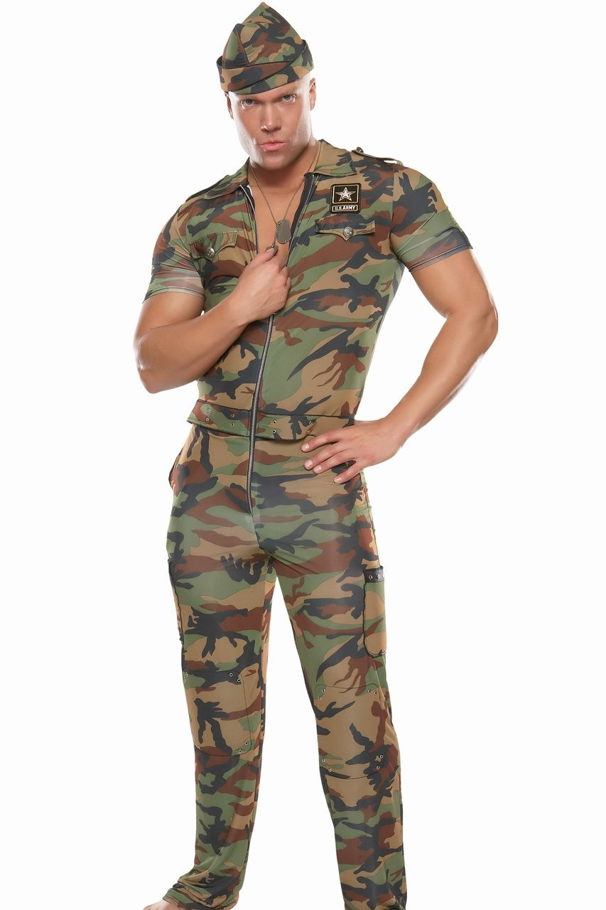 Best ideas about Army Girl Costume DIY . Save or Pin Army Costumes for Men Women Kids Now.