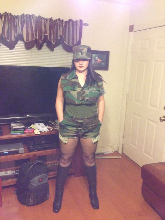 Best ideas about Army Girl Costume DIY . Save or Pin Pinterest • The world's catalog of ideas Now.