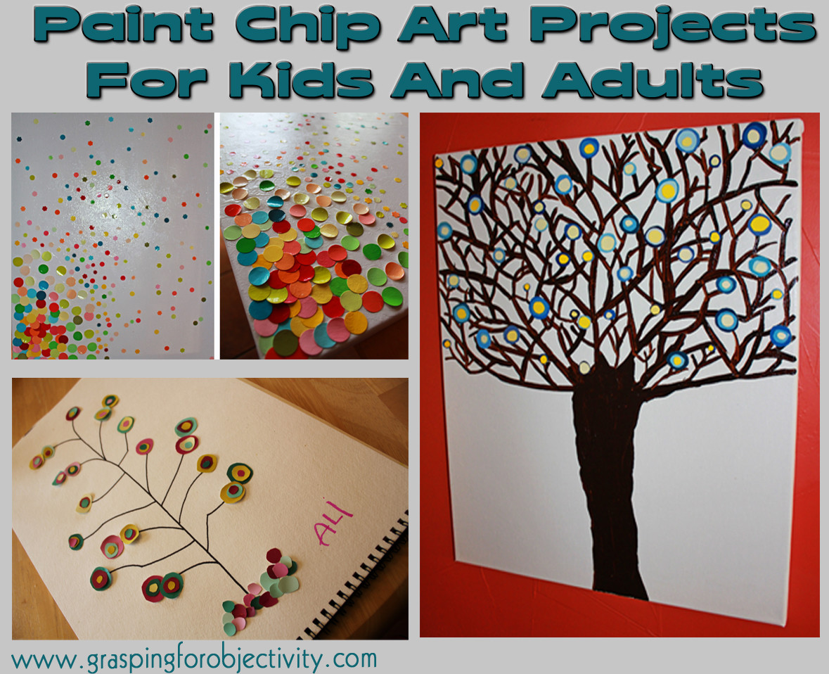 Best ideas about Art Activities For Adults . Save or Pin Paint Chip Art Now.