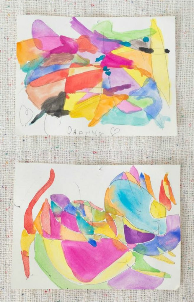Best ideas about Art Activities For Adults . Save or Pin Scribble Drawings with Watercolors Now.