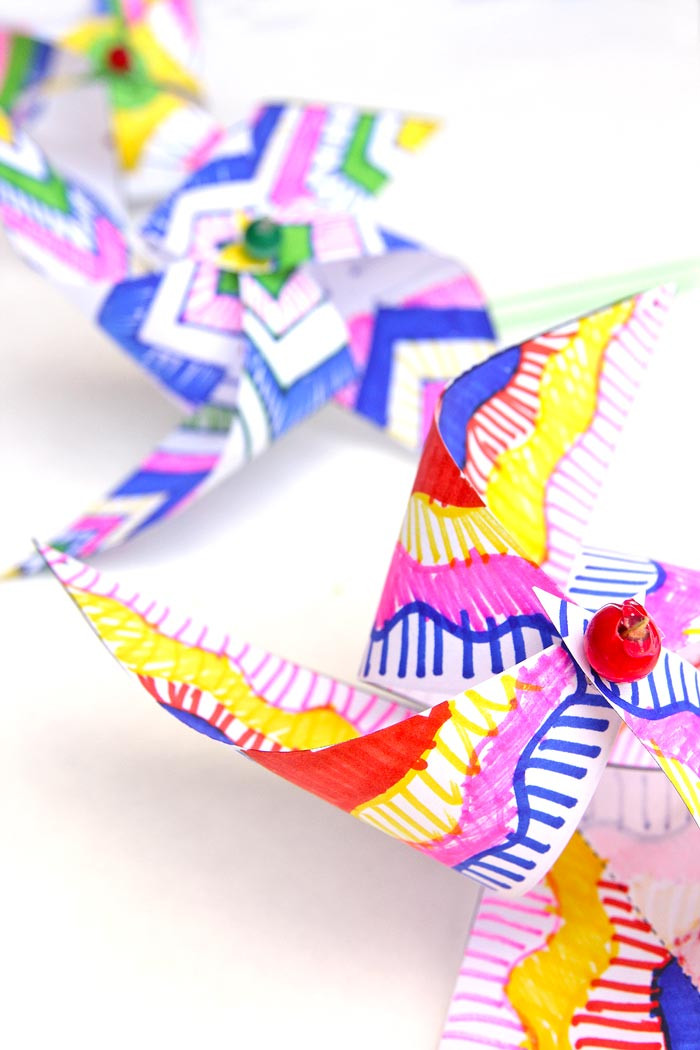 Best ideas about Art And Crafts . Save or Pin Kids Paper Crafts Op Art Pinwheels Babble Dabble Do Now.