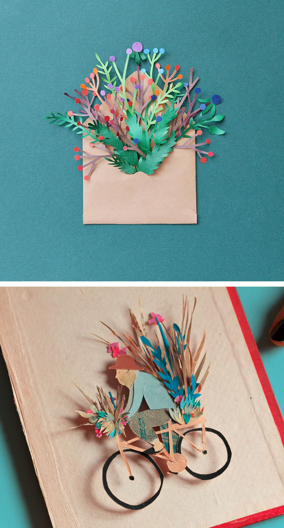 Best ideas about Art And Crafts . Save or Pin 10 Examples of Cut Paper Illustration to Put You in Tune Now.