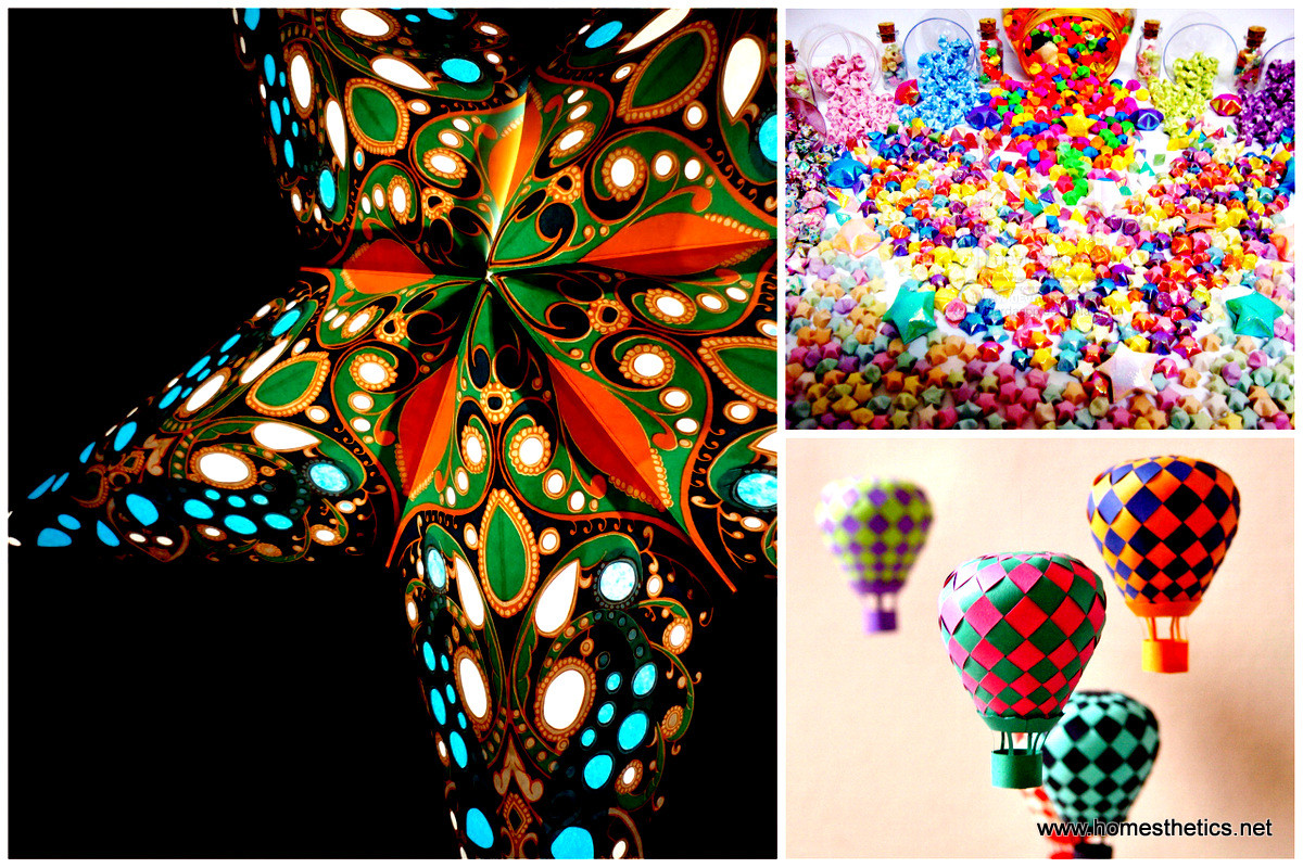 Best ideas about Art And Crafts . Save or Pin 40 Ways To Decorate Your Home With Paper Crafts Now.
