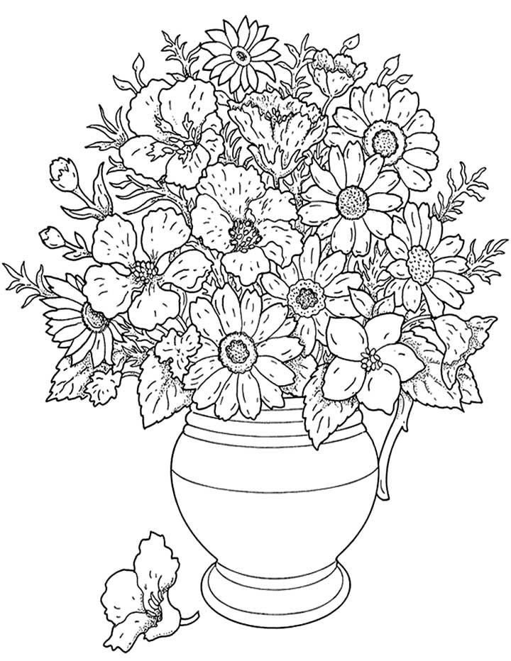 Best ideas about Artful Flower Heart Coloring Sheets For Girls Flowers . Save or Pin coloring pages of flowers printable free Now.