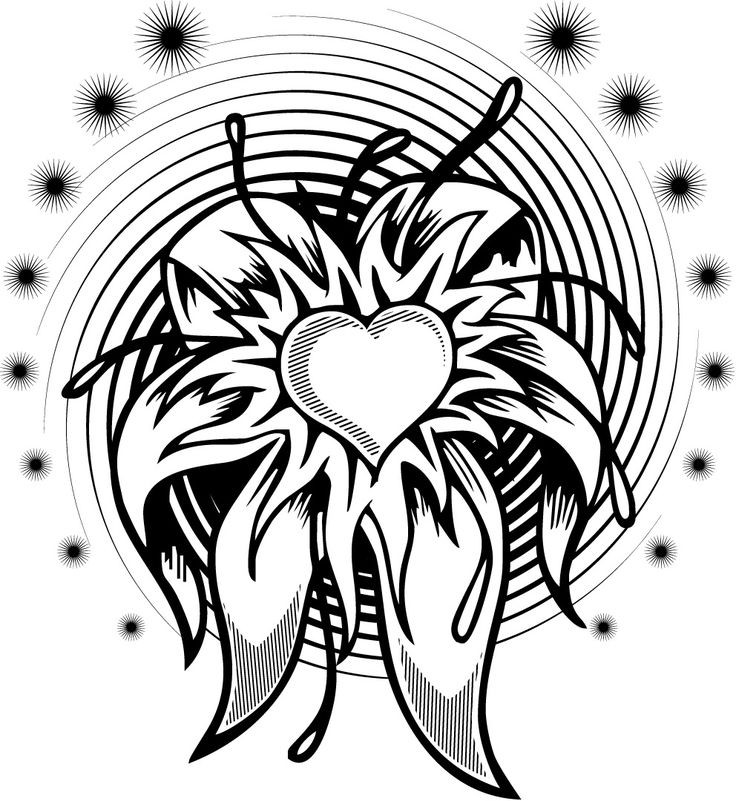 Best ideas about Artful Flower Heart Coloring Sheets For Girls Flowers . Save or Pin Cool plex s Design Coloring Pages Now.