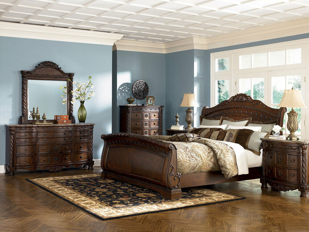 Best ideas about Ashley Bedroom Furniture . Save or Pin Ashley Furniture B553 North Shore Queen or King Sleigh Now.