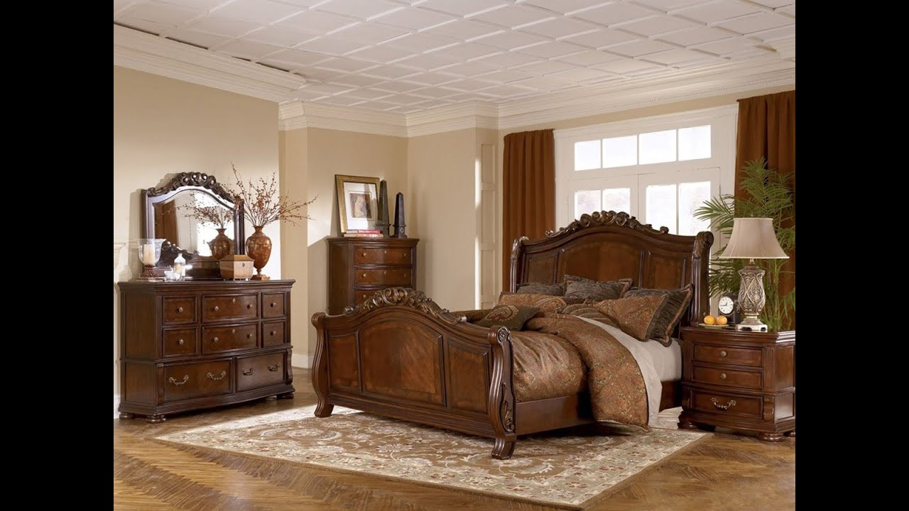 Best ideas about Ashley Bedroom Furniture . Save or Pin Ashley Furniture Bedroom Set Marble Top Now.