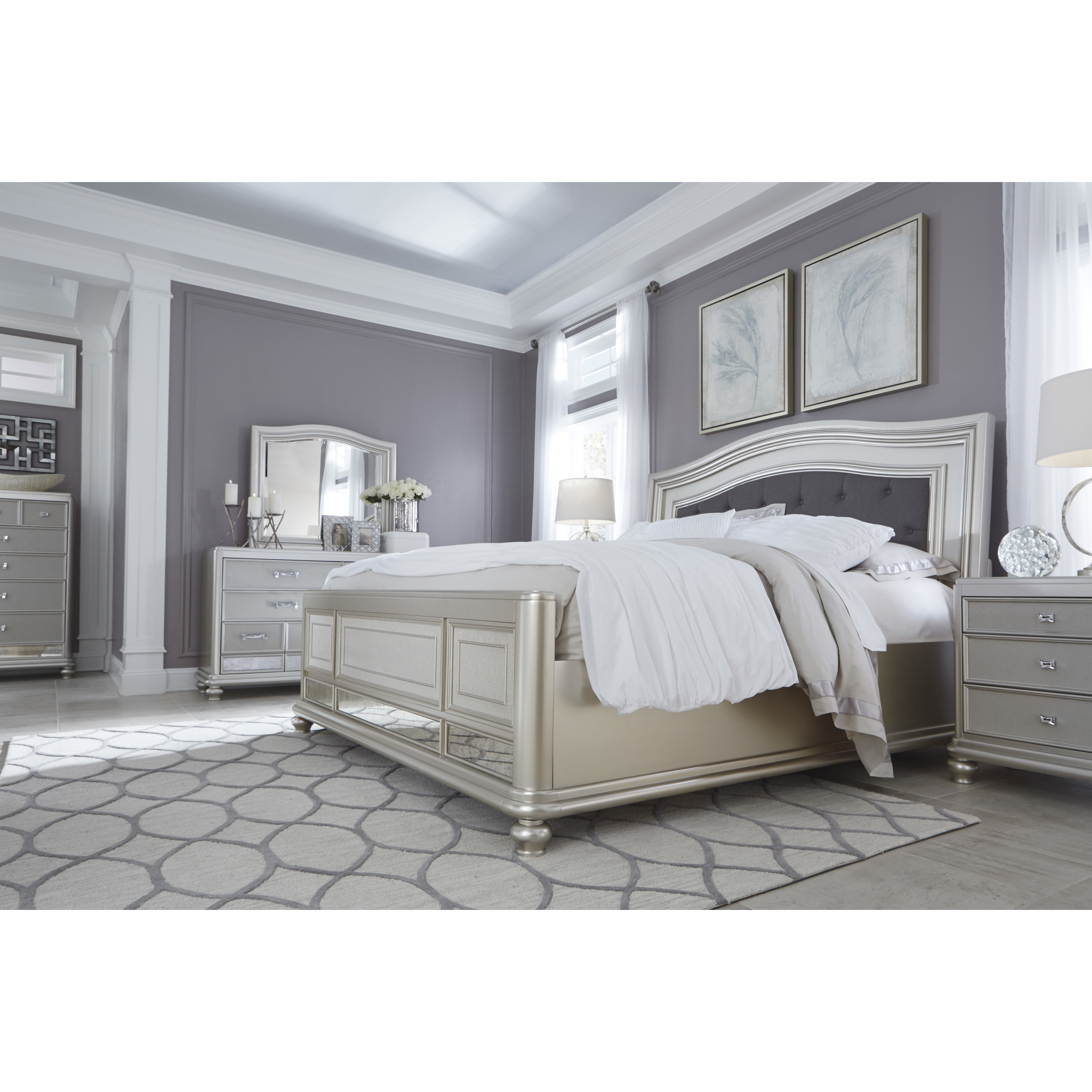 Best ideas about Ashley Bedroom Furniture . Save or Pin Signature Design by Ashley Coralayne Panel Customizable Now.