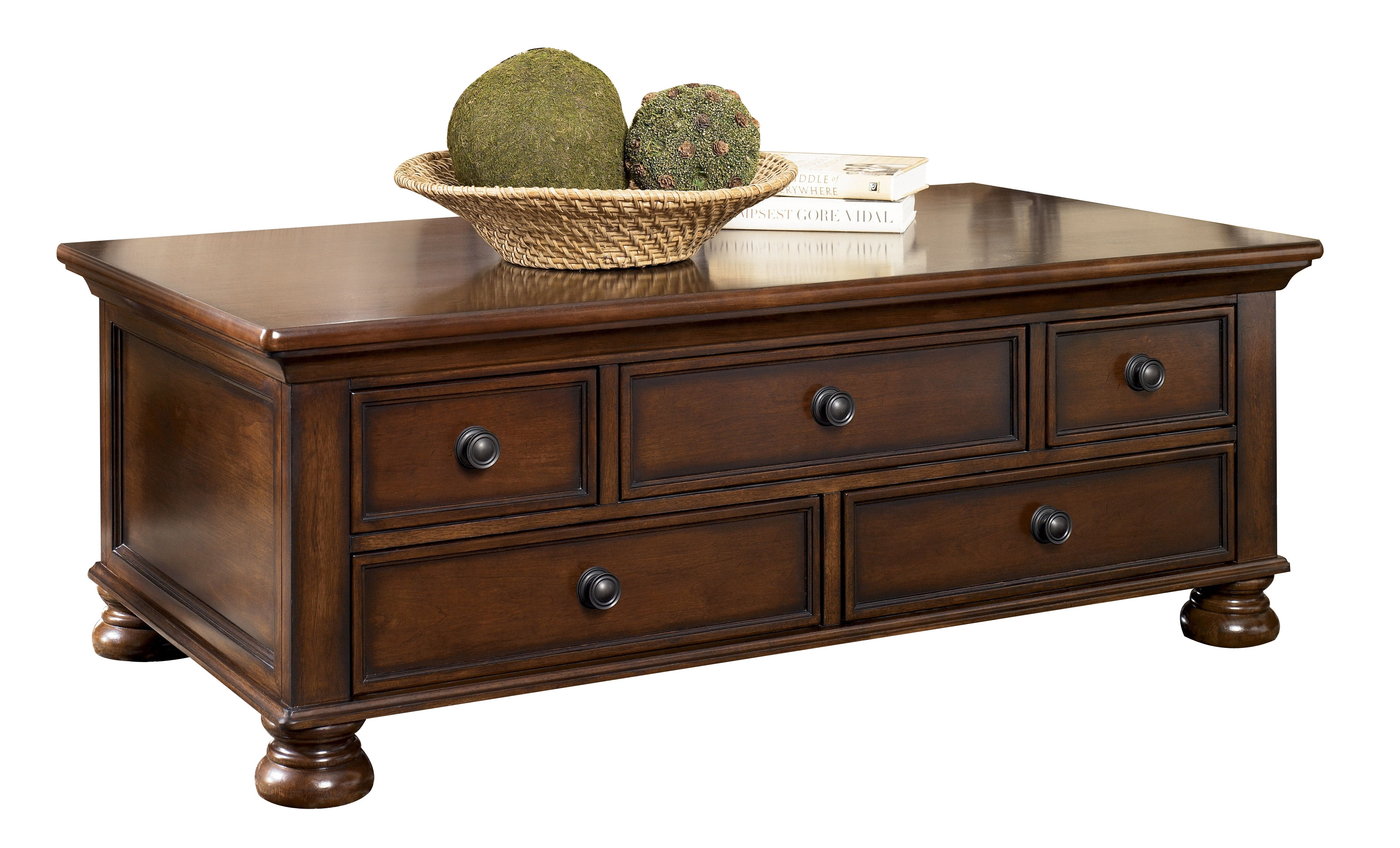 Best ideas about Ashley Furniture Coffee Tables . Save or Pin Ashley Furniture Porter Brown Cocktail Table Now.