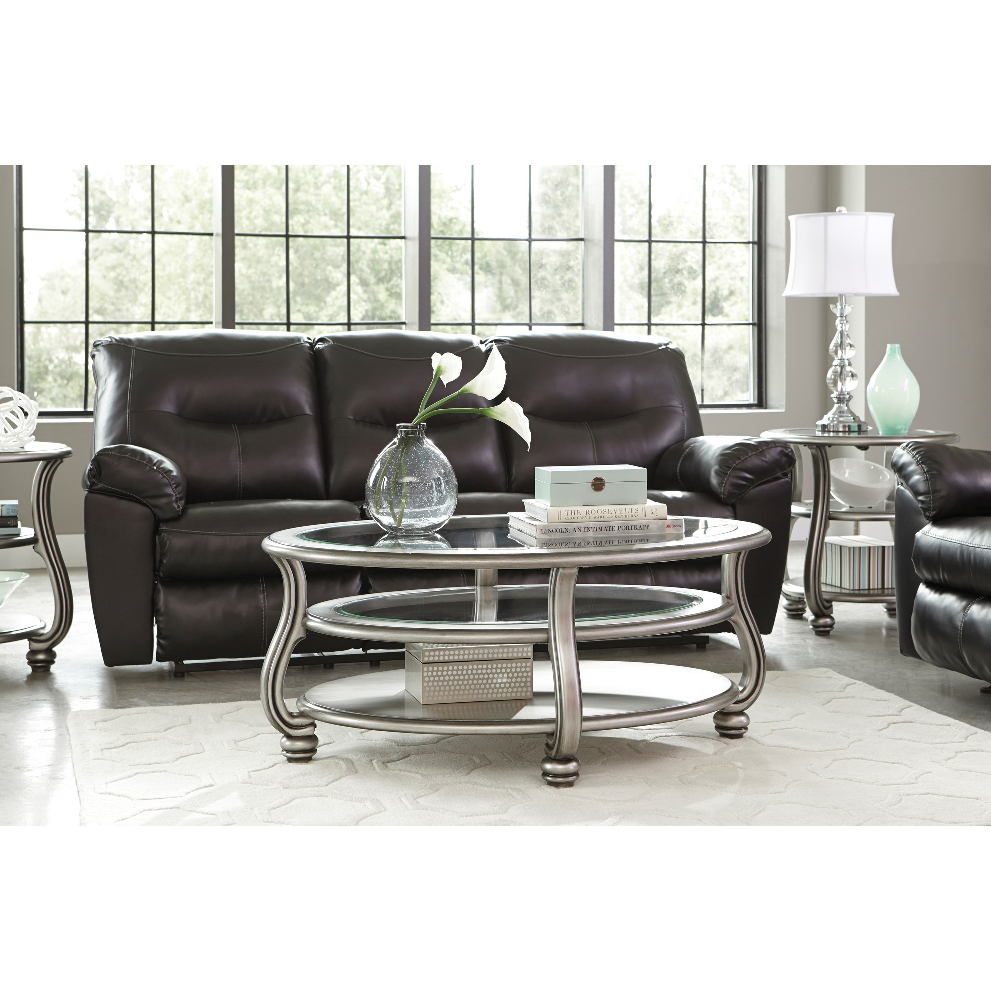 Best ideas about Ashley Furniture Coffee Tables . Save or Pin Ashley Signature Design Coralayne T820 0 Oval Cocktail Now.