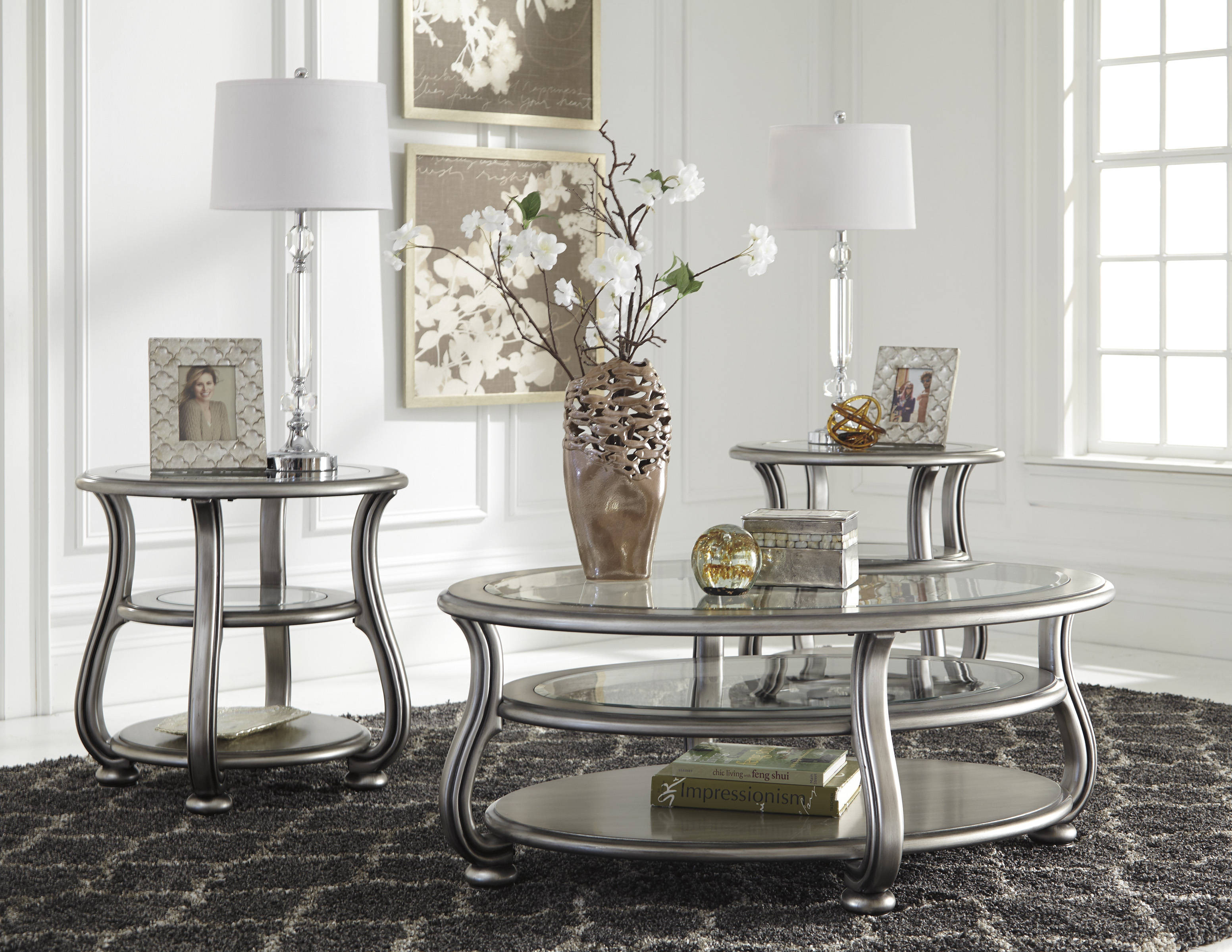 Best ideas about Ashley Furniture Coffee Tables . Save or Pin Ashley Furniture Coralayne 3pc Coffee Table Set Now.