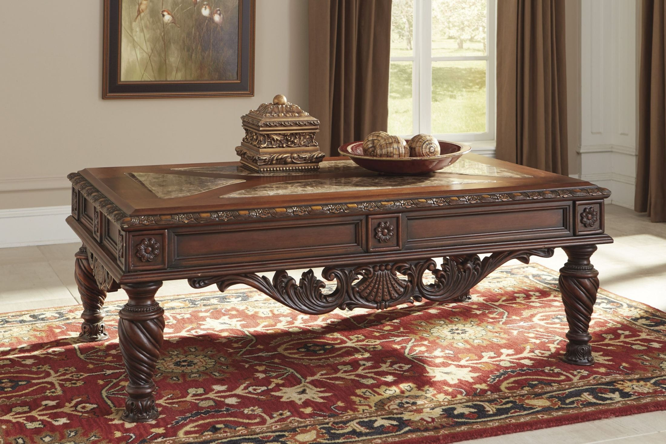 Best ideas about Ashley Furniture Coffee Tables . Save or Pin North Shore Rectangular Cocktail Table from Ashley T963 1 Now.
