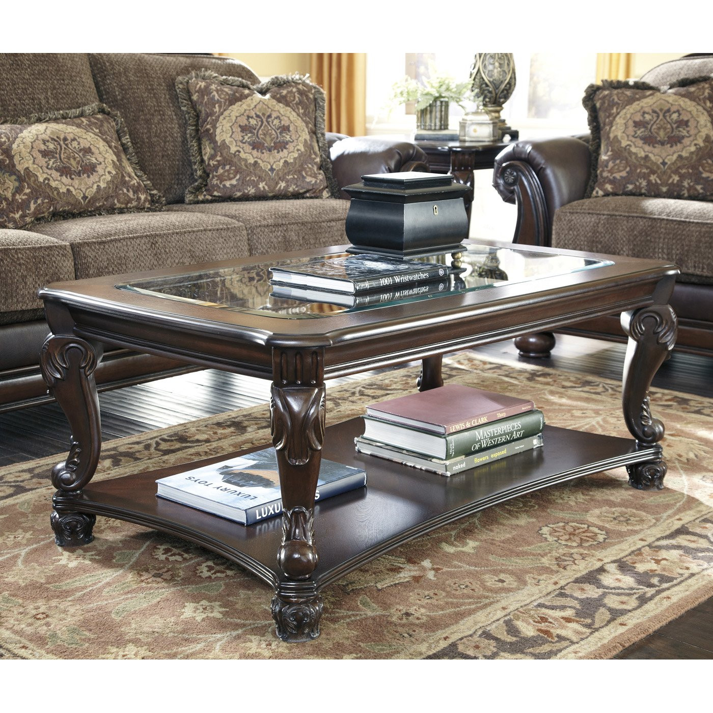 Best ideas about Ashley Furniture Coffee Tables . Save or Pin Signature Design by Ashley T519 1 Norcastle Rectangular Now.
