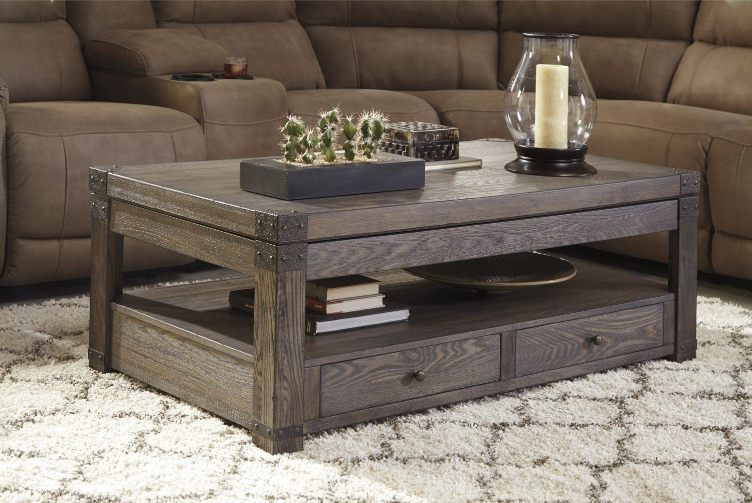 Best ideas about Ashley Furniture Coffee Tables . Save or Pin Burladen Rect Lift Top COFFEE Table D T846 9 Now.