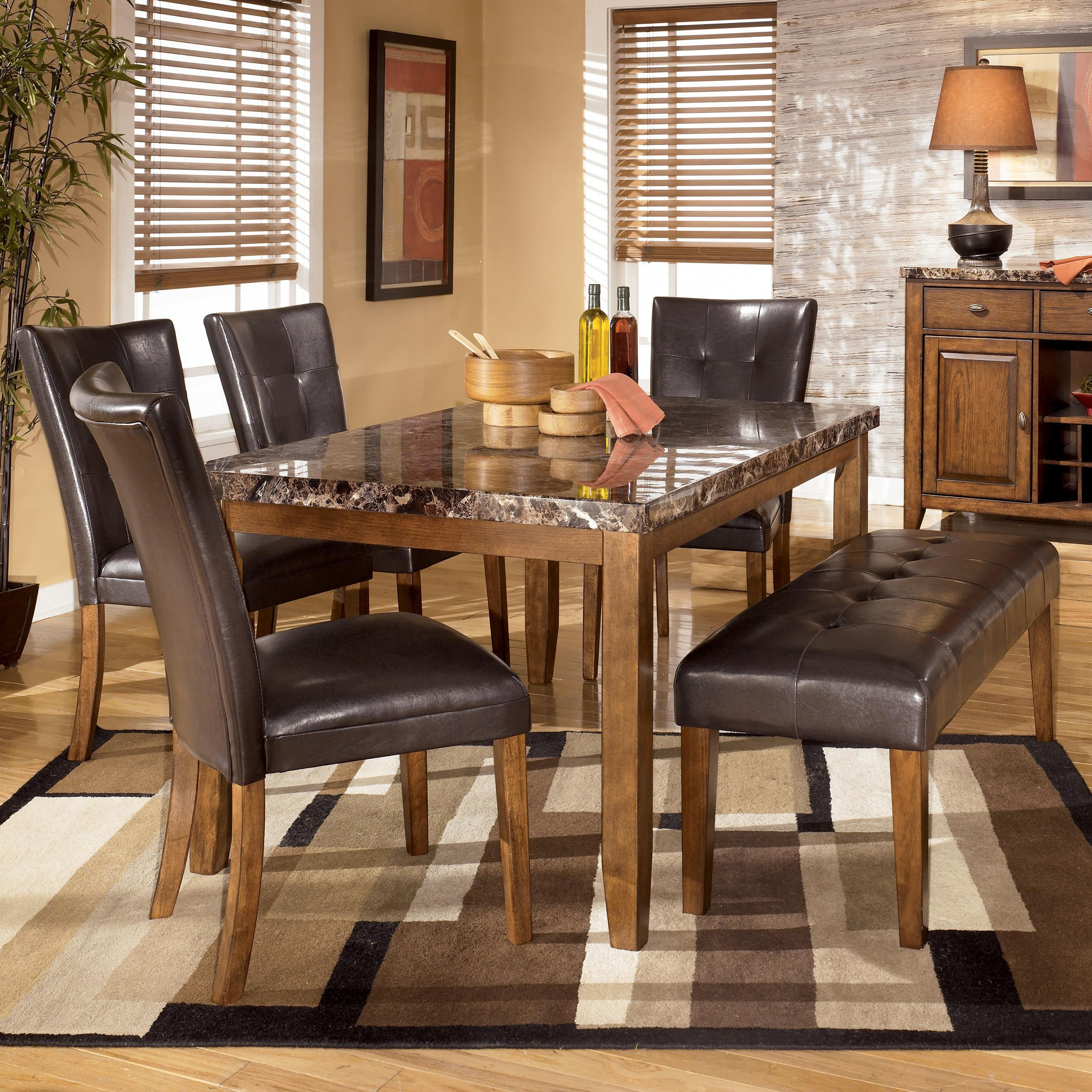 Best ideas about Ashley Furniture Dining Table . Save or Pin Signature Design by Ashley Lacey 6 Piece Dining Table with Now.