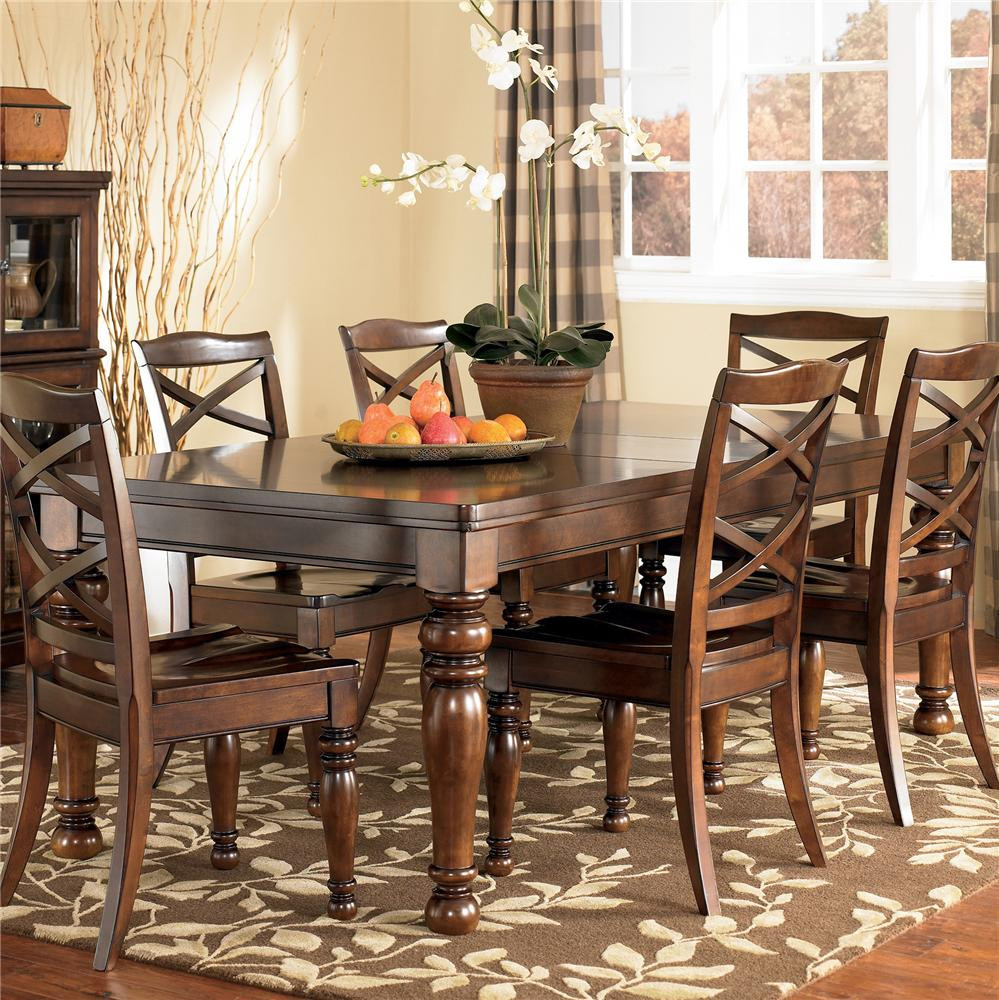 Best ideas about Ashley Furniture Dining Table . Save or Pin Ashley Furniture Porter D697 35 Rectangular Extension Now.