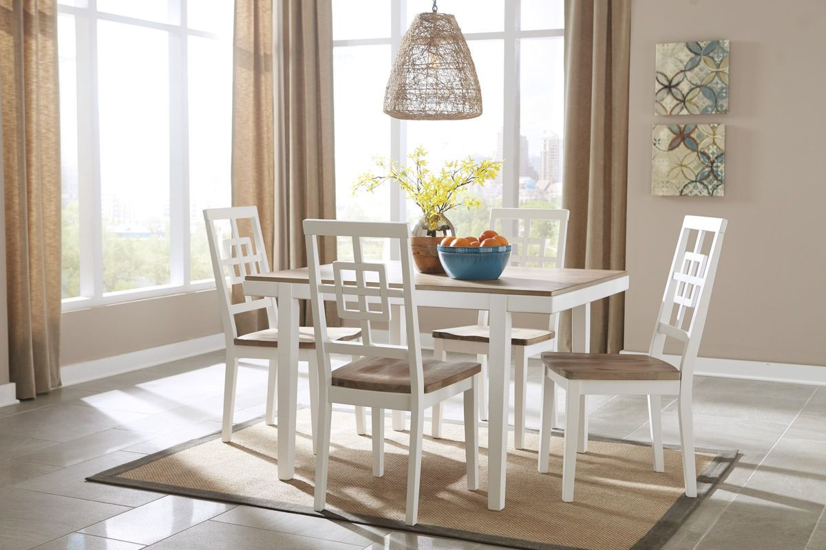 Best ideas about Ashley Furniture Dining Table . Save or Pin Brovada Dining Table 4 Chairs by Ashley at Gardner White Now.