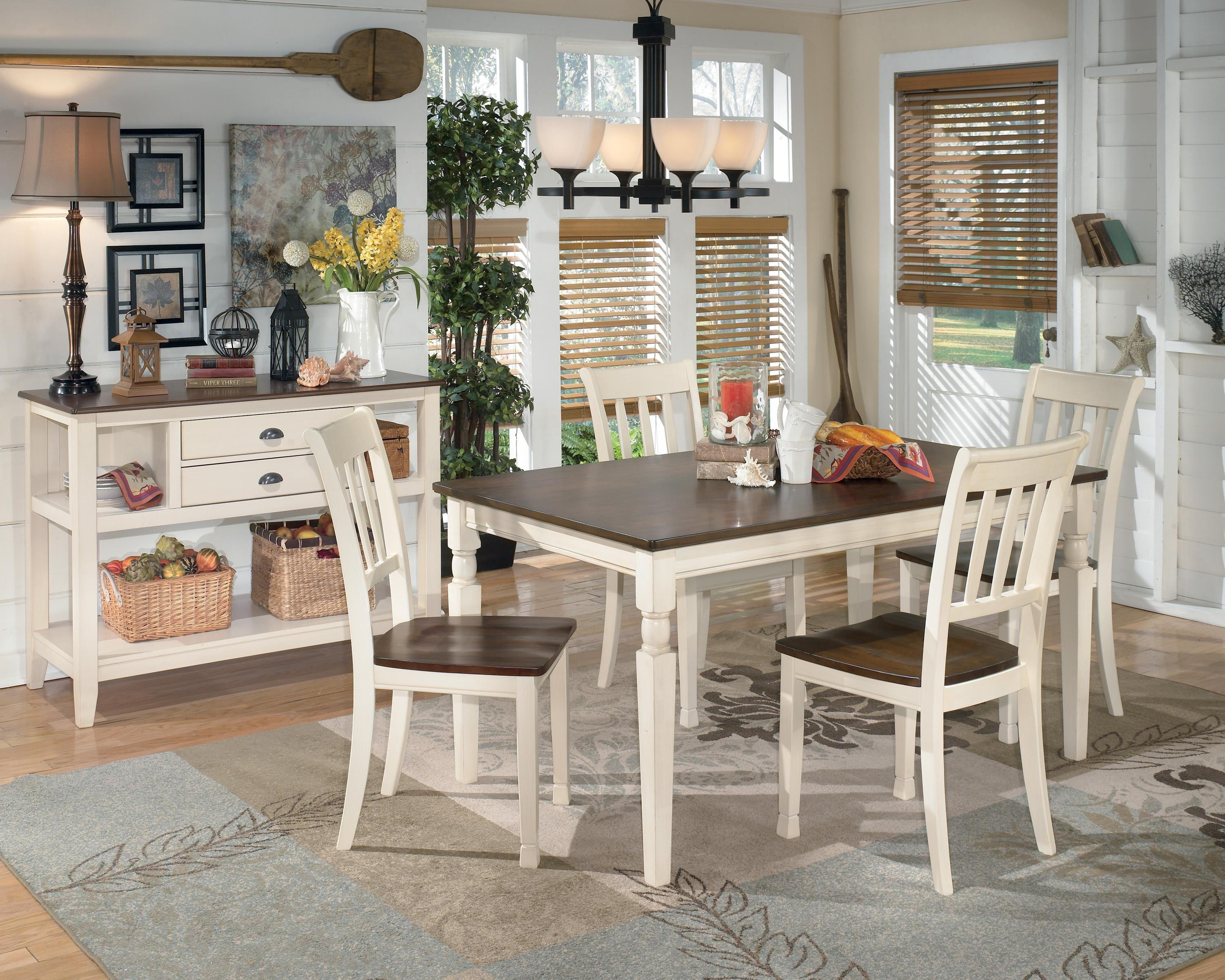 Best ideas about Ashley Furniture Dining Table . Save or Pin Signature Design by Ashley Whitesburg D583 25 Rectangular Now.