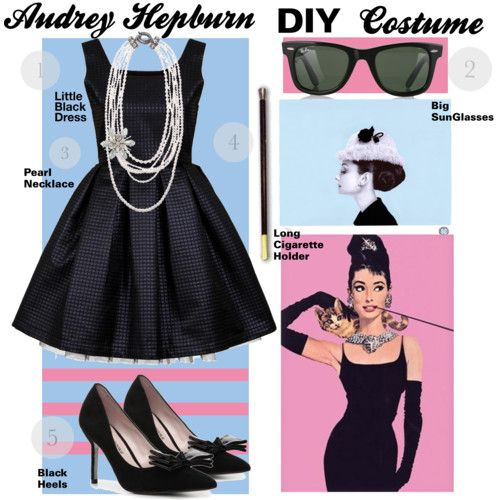 Best ideas about Audrey Hepburn DIY Costume . Save or Pin Audrey Hepburn DIY costume Halloween Pinterest Now.