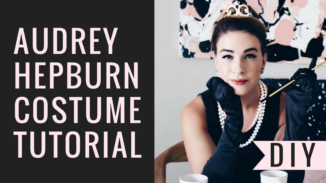 Best ideas about Audrey Hepburn DIY Costume . Save or Pin Audrey Hepburn DIY Costume Makeup Hair Tutorial Now.