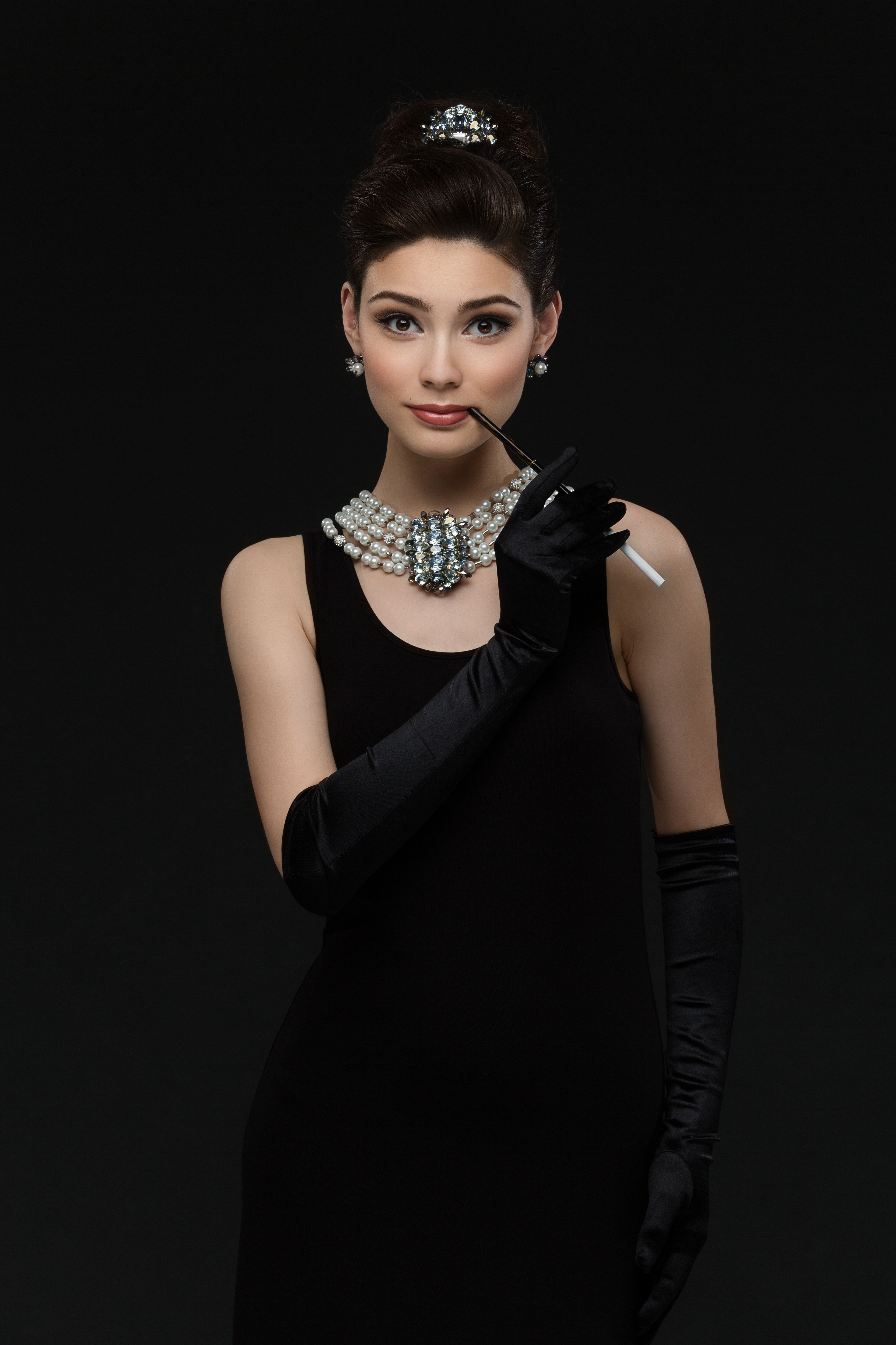 Best ideas about Audrey Hepburn DIY Costume . Save or Pin DIY Audrey Hepburn Costume Using Clothes from Your Now.