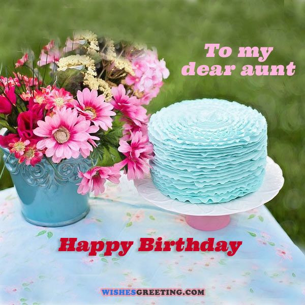 Best ideas about Aunt Birthday Wish . Save or Pin Top 60 Happy Birthday Aunt Wishes and Messages Now.