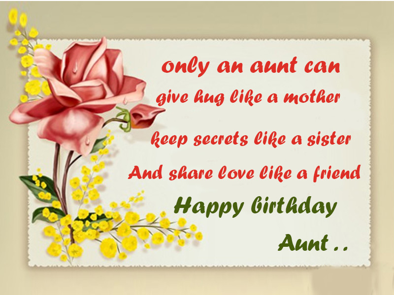 Best ideas about Aunt Birthday Wish . Save or Pin Aunt Birthday Wishes Messages Happy Birthday Aunt Wishes Now.