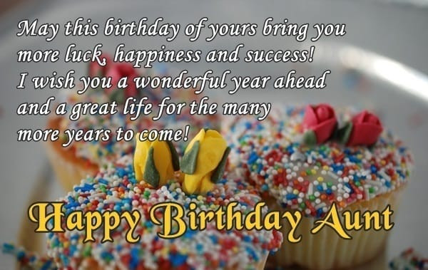 Best ideas about Aunt Birthday Wish . Save or Pin Birthday Wishes for Aunty Happy Birthday Tita Now.