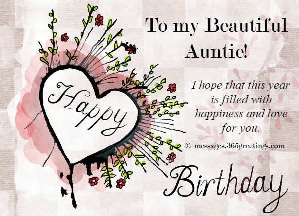 Best ideas about Aunt Birthday Wish . Save or Pin Birthday Wishes for Aunt 365greetings Now.