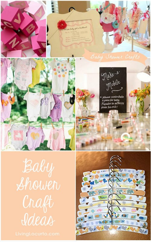 Best ideas about Babies Crafts Ideas . Save or Pin 7 Baby Shower Craft Ideas for Party Guests Now.