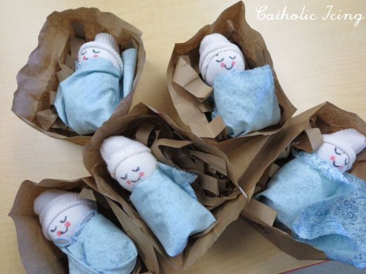 Best ideas about Babies Crafts Ideas . Save or Pin super easy sock baby jesus christmas craft for Now.