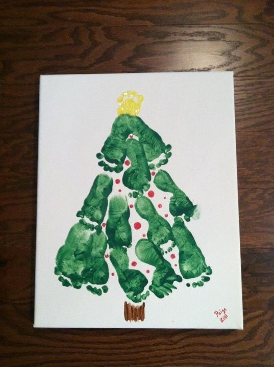 Best ideas about Babies Crafts Ideas . Save or Pin baby s first christmas or a fun craft to do with kids Now.
