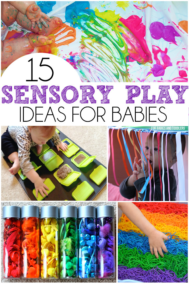 Best ideas about Babies Crafts Ideas . Save or Pin 15 Sensory Play Ideas For Babies I Heart Arts n Crafts Now.