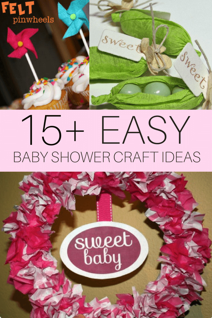 Best ideas about Babies Crafts Ideas . Save or Pin DIY Baby Shower Craft Ideas CutestBabyShowers Now.