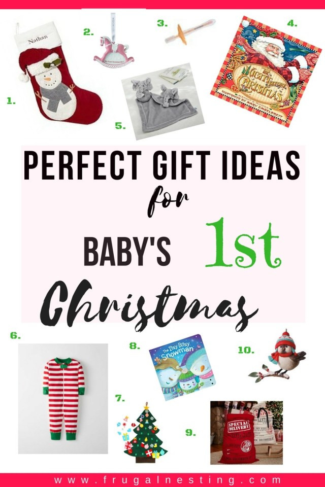 Best ideas about Baby 1St Christmas Gift Ideas . Save or Pin Unique Gift Ideas for Baby s 1st Christmas Now.