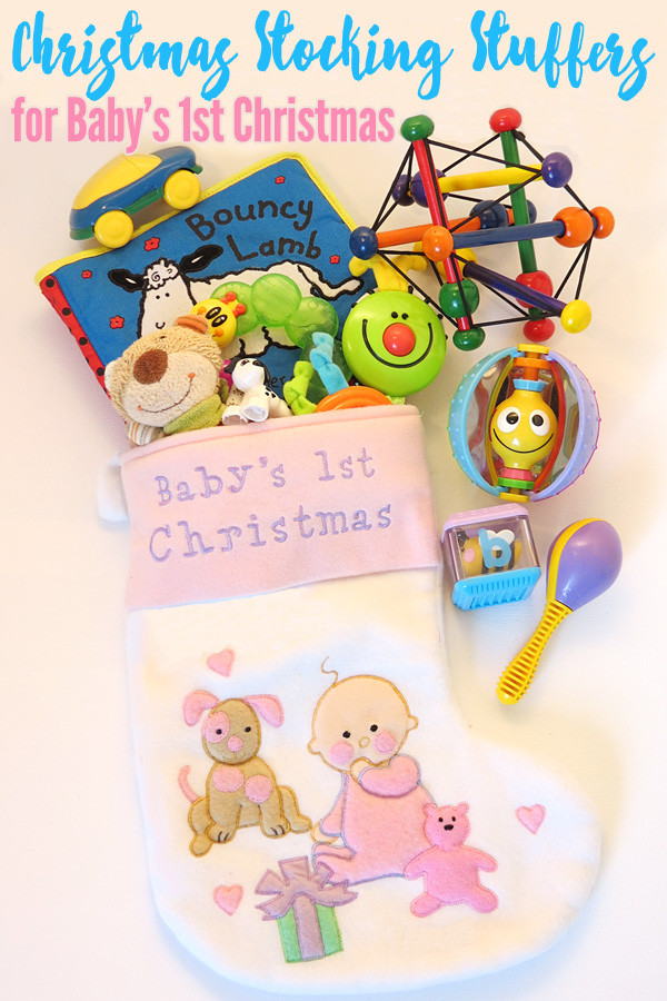 Best ideas about Baby 1St Christmas Gift Ideas . Save or Pin Christmas Stocking Stuffers for Baby s 1st Christmas Now.