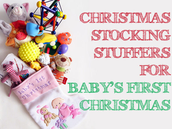 Best ideas about Baby 1St Christmas Gift Ideas . Save or Pin Christmas Stocking Stuffer Ideas for Baby s First Now.