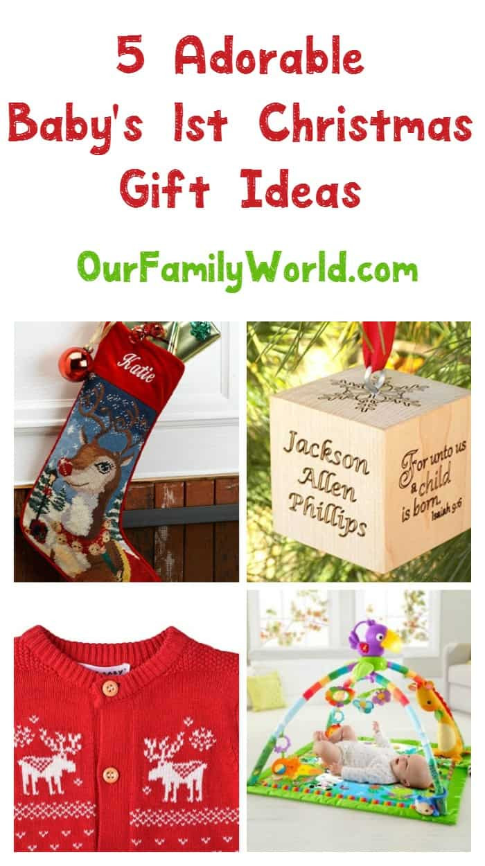 Best ideas about Baby 1St Christmas Gift Ideas . Save or Pin 5 Great Gift Ideas for Baby s First Christmas Our Family Now.