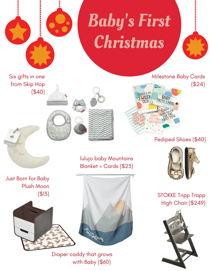 Best ideas about Baby 1St Christmas Gift Ideas . Save or Pin Baby s first Christmas t ideas Savvy Sassy Moms Now.