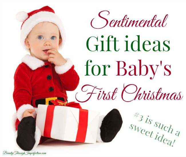Best ideas about Baby 1St Christmas Gift Ideas . Save or Pin Gift Ideas for Baby s First Christmas Beauty Through Now.