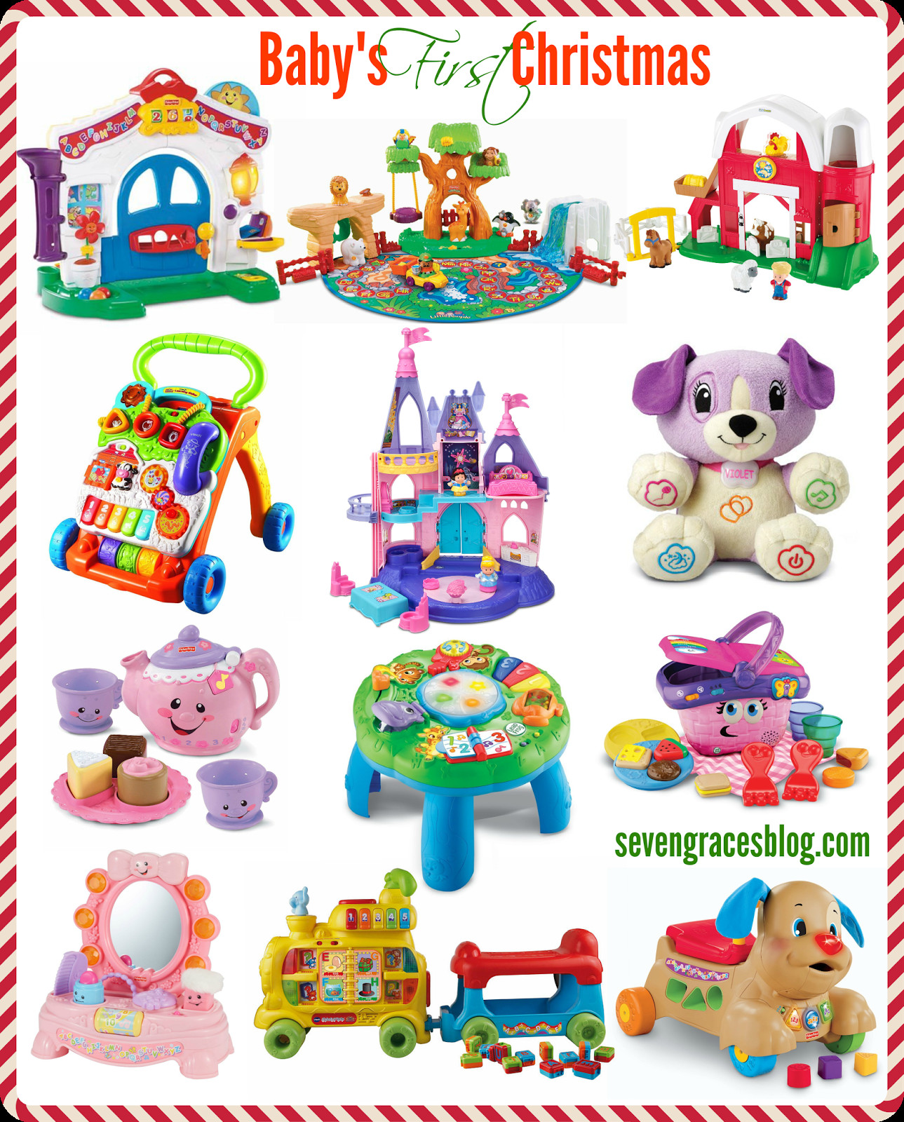 Best ideas about Baby 1St Christmas Gift Ideas . Save or Pin Best Gifts for Baby s First Christmas Seven Graces Now.